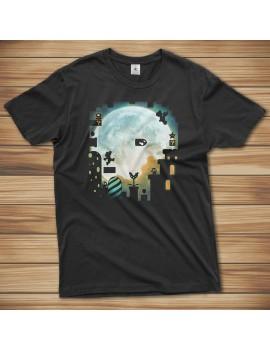 T-shirt Super Mario Booh Moon