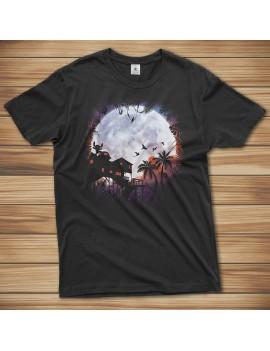 T-shirt Stitch Ohana Moon