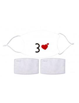 Cotton mask mod. Emoji 6 -...