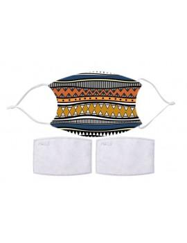 Cotton mask mod. Ethnic 2 -...