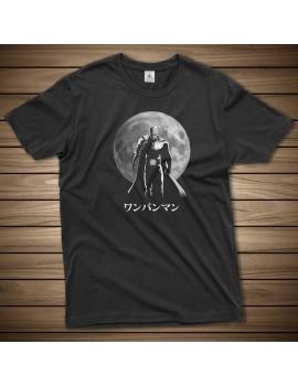 T-shirt One Punch Hero Moon